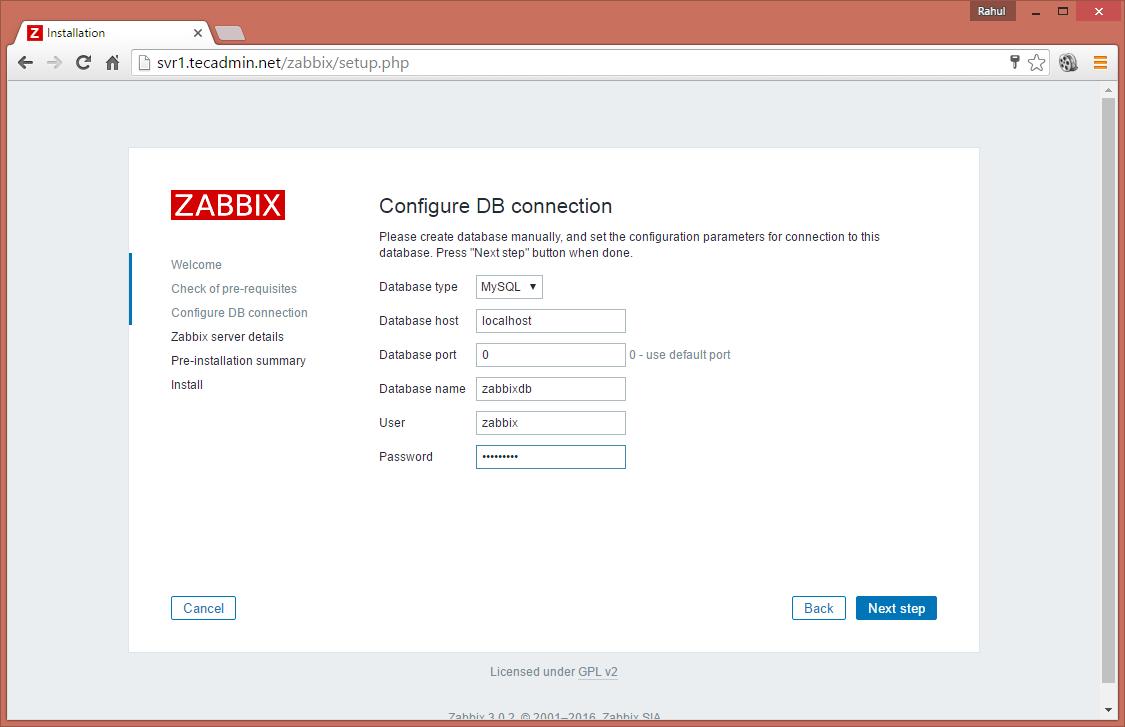 如何在Debian和Ubuntu上安装zabbix服务器3.0